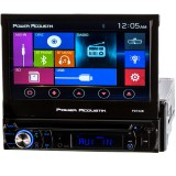 """Power Acoustik PD-724B 7"""" Single DIN Car Stereo Receiver - Home Screen"""