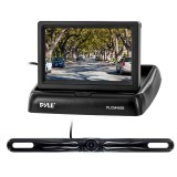 """Pyle PLCM4500 4.3"""" Pop-Up Stealth Monitor with License Plate Backup Camera - Main"""