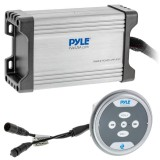 Pyle PLMRMBT7S Marine Amplifier Kit