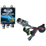 Pyle PLHID9006K 8000K HID Xenon Driving Light System Kit Single Beam 9006 Series Bulbs
