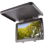 "Clarus TOP-FD14W 14"" Overhead Flip down monitor - Right side view"