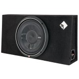 """Rockford Fosgate P3S-1X12 Single P3 12"""" Shallow Loaded Subwoofer Enclosure for Car"""
