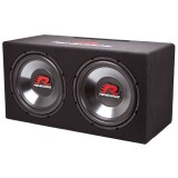"Renegade RXV1202 12"" Dual Subwoofer - Front right"