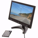 Safesight LCDP10WSD 10 Inch LCD Monitor with USD / SD card inputs - Remote control