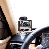 "Safesight TOP-RM355A 3.5"" Back up monitor - Attached to windshield"