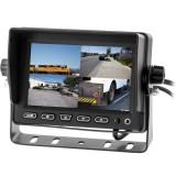 "SafeSight TOP-5001Q 5"" Quad Screen Monitor - Quad screen"