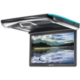 """Soundstream PMD‐143H Ceiling-Mount 14.3"""" DVD Entertainment System with 3 Interchangeable Color Skins & Mobile Link for Vehicles"""
