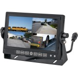 Safesight TOP-SS-D7001DVR 7 Inch LCD Quad Monitor - Main