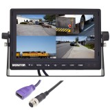 Safesight TOP-SS-D7004HDMI 7 Inch LCD Monitor with HDMI input - Front of monitor