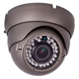 "Safesight TOP-SS-VRDC700 1/3"" Sony HAD CCD Vandal-resistant IR Dome camera - Front view"