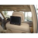 2008 - 2010 Mercedes C300 - C350 Rosen AV7700 Seat Back Mounted DVD System
