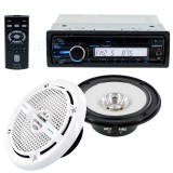 Sony CXS-M2016 Marine Stereo System package - Radio and speakers
