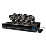 Swann SWDVK-163208S-US DVR16-3200 16 Channel 960H Digital Video Recorder and 8 x PRO-642 Cameras-left side