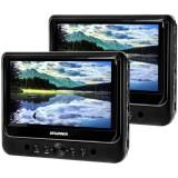 "Sylvania SDVD9805 9"" Dual-Screen Dual Portable DVD Player - Main"