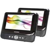 """Sylvania SDVD9957 9"""" Dual-Screen Portable DVD Player"""