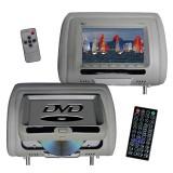 Tview T737DVPLGR Headrest DVD Players - Main