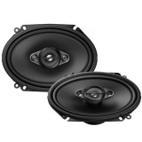 Pioneer TS-A6880F 6 x 8 inch 4-Way Coaxial Speakers - Fits 5 x 7