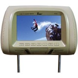 "Tview T726PL-TN 7"" Replacement Headrest with 2-Video Inputs"