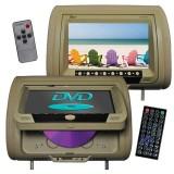 Tview T939DVPLTAN Headrest DVD Players - Master screen
