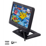 Tview T712HR-IR Universal 7 inch Widescreen TFT LCD Monitor with Built in IR Transmitter, Headrest Shroud and Mounting Stand