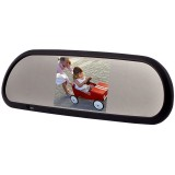 Boyo (Vision Tech) VTB42M Rear View Mirror Monitor with 4.2 inch LCD with Bluetooth, Digital Compass and Built In Speakers