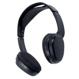 POWER ACOUSTIK WLHP-200 1-Channel Wireless IR Headphones for Vehicles