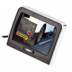 Boyo VTM3601 3.5 inch LCD Back Up Monitor with suction cup mount