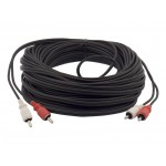 BURCA-50 50 Foot Video Cable for Back Up Camera and Car Video Entertainement Systems