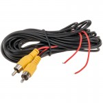 Quality Mobile Video RCA-L Single Shielded RCA Audio Video Cable - 18 foot
