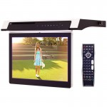 Clarus TOP-131KTV Under Cabinet 13 inch Kitchen TV with Built-In DVD Player and HDMI input