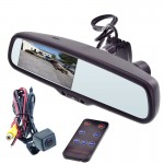 """Gryphon Mobile RVM403DVR 4.3"""" OEM Replacement Rearview Mirror with Built in front camera and DVR"""