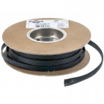 "TechFlex FLX12BLK 1/2"" Flexo PET General Purpose Braided Cable Sleeve - Black 100 foot roll"
