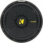 DISCONTINUED - Kicker CompD 40CWD122 600 Watt 12 inch Subwoofer - Dual 2 Ohm Voice Coil
