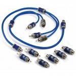 Kicker KIYM K-Series Y RCA Interconnect Cables