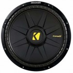 DISCONTINUED - Kicker CompD 40CWD154 1200 Watt 15 inch Subwoofer - Dual 4 Ohm Voice Coil