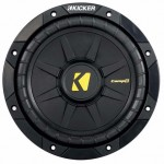 DISCONTINUED - Kicker CompD 40CWD84 400 Watt 8 inch Subwoofer - Dual 4 Ohm Voice Coil