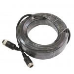 Safesight TOP-CBL30 30 Foot Commercial Grade RV Back up Camera Extension Cable - 4-Pin