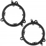 "Metra 82-8148 6"" - 6.75"" Speaker Adapter Plates for Select Lexus, Scion and Toyota 1998 - Up Vehicles"