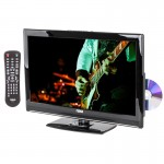 """DISCONTINUED - NAXA NTD-2252 22"""" Widescreen LED HDTV with Built-In Digital TV Tuner and DVD Player"""