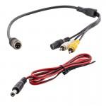 Safesight SMCRCA01 Commercial Grade Back Up Camera RCA Adapter Harness