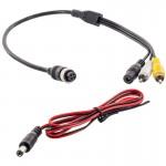 Safesight SMCRCA02 Commercial Grade Back Up Camera RCA Adapter Harness