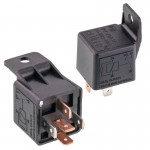 Beuler 5083 12 VDC Automotive 5-Pin Relay SPDT 40/60A with Plastic tab and Negative spike protection