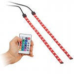 Accele LW200-RF 12 inch Flexible Full Color LED Light Strip Kit with RF remote control