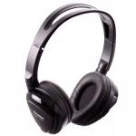 Power Acoustik HP-12S Swivel Ear Pad Dual Channel IR Infrared Wireless Headphones