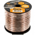 Metra Raptor RSW12-50 12 Gauge 50 Ft Clear Speaker Wire