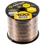 Metra RSW16-100 16 Gauge 100 Ft Clear Speaker Wire