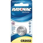 Rayovac KECR2032-1C CR2032 3-Volt Lithium Battery - 1 Pack