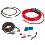 Rockford Fosgate RFK8I 8 Gauge Amplifier Power and Signal Wiring Installation Kit