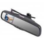 "Safesight RVMZH3500 3.5"" OEM Replacement Rearview Mirror with 3.5"" LCD Display for Back Up"