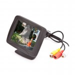 "Safesight TOP-SS-035LC 3.5"" Back up monitor with adjustable pedistal mount"